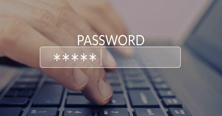 กำหนดนโยบายรหัสผ่าน